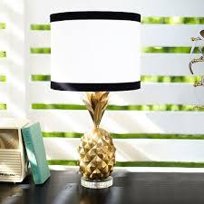 pottery barn teen lighting the emily meritt pineapple table l pbteen