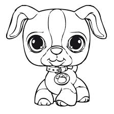 coloring pages trendy pet shop coloring pages littlest