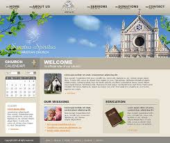 church website template