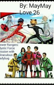 power rangers mystic force mission miraculous ladybug