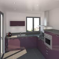 meuble cuisine inox meuble cuisine inox génial cuisine aubergine mod le keria aubergine