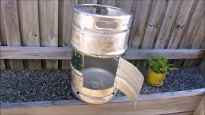Buy A Keg Building A Diy Fire Pit Using A Beer Keg Youtube