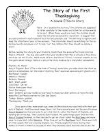 thanksgiving story for