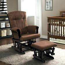 Upholstered Glider With Ottoman Extraordinary Nursery Glider With Ottoman Upholstered Glider And