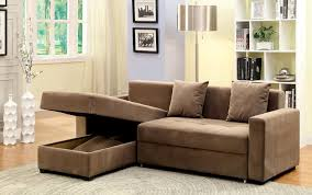 turn any sofa into a sleeper sofa sectional with storage and pull out chaise turns into bed