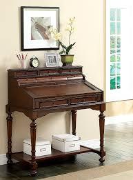 Secretary Style Computer Desk by Amazon Com Furniture Of America Elaine Traditional Secretary Desk