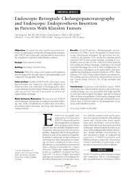 endoscopic retrograde cholangiopancreatography and endoscopic