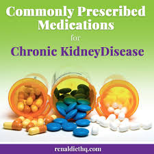 commonly prescribed medications for chronic kidney disease renal
