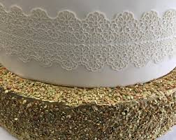 wedding cake lace wedding cake lace etsy