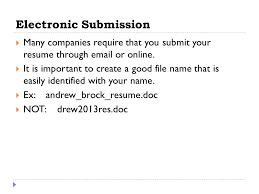 Submit Your Resume Online by Creating A Resume Objective Use Microsoft Word To Create Both A