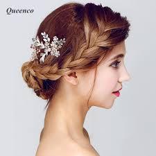 floral hair accessories aliexpress buy fashion silver leaf floral hair combs bridal