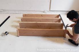 Cheap Sturdy Bookshelves by Homemade Modern Ep36 Ironbound Bookcase