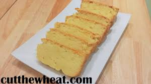 moist buttery pound cake cut the wheat