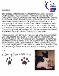 cassi selby relay for life fundraising letters make it fun and
