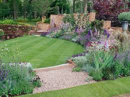 beautiful simple landscaping basic garden ideas home design