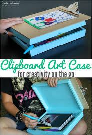 road trip case clipboard art crafts unleashed
