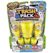 trash pack junk germs series 7 figures 12 pack amazon uk