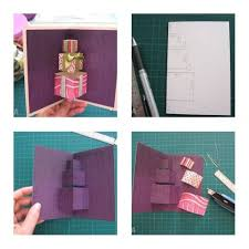 make a gift card how to make simple 3d gift card step by step diy tutorial