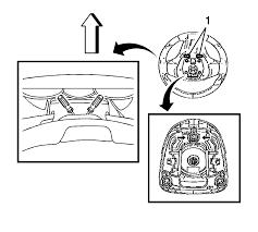 chevrolet sonic repair manual airbag steering wheel module
