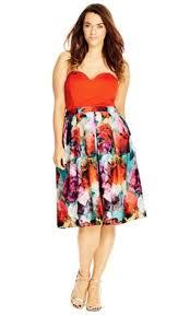 city chic ruffle romance dress women u0027s plus size fashion