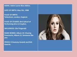 adele biography english biography adele
