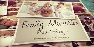 photo gallery family memories by dorde videohive