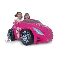 stunning 12v injusa pink barbie 2 seat ride jeep 384 95