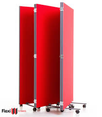Portable Room Dividers by Portable Partitions L Mobile Room Dividers L Folding Room Partitions
