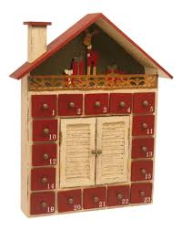 wood advent calendar home decor wooden advent calendar shabby chic winter