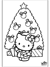 6 beauty christmas hello kitty coloring pages u2013 free christmas
