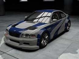 bmw m3 gtr e46 bmw m3 e46 need for speed shift 2 unleashed rides nfscars