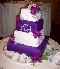 purple wedding cakes purple and white wedding cake by johnson u0027s