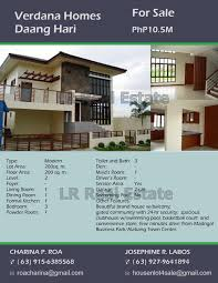 house and lot for sale lr real estate brokerage