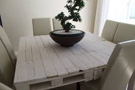 Pallet Dining Room Table White Wash Furniture Table Pallet Simple White Wash Furniture