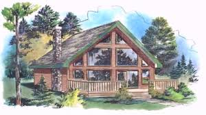 House Plans With Lofts Chalet Style House Loft Youtube
