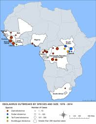 Africa On The Map by Ebola Virus Disease Distribution Map Ebola Hemorrhagic Fever Cdc