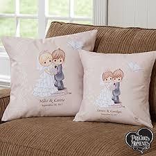 wedding pillows personalized wedding pillows precious moments groom