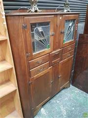 leadlight kitchen cabinets furniture interiors lawsons auctioneers sydney and