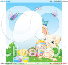 royalty free rf clipart of easter frames illustrations vector