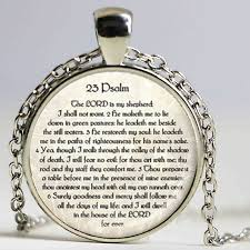 bible verse jewelry 23rd psalm jewelry scripture necklace psalm 23 necklace bible