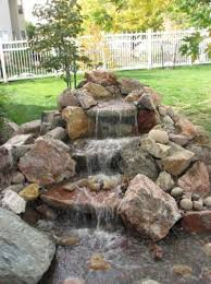 Backyard Waterfall Ideas by Remarkable Ideas Waterfall Backyard Pleasing Backyard Waterfall