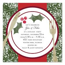 holiday dinner holiday invitations by invitation consultants