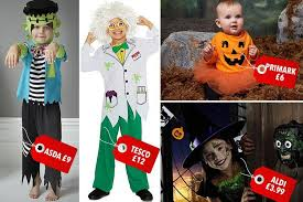 childrens halloween costumes asda world book day character ideas