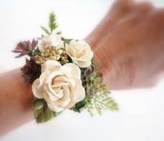 wedding wrist corsage wrist corsage dried flowers simple and dainty for