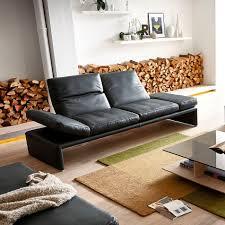 canapé d angle cuir et tissu canapé d angle contemporain en cuir en tissu raoul by kurt