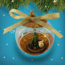 clear glass ornaments for tree decoration buy clear