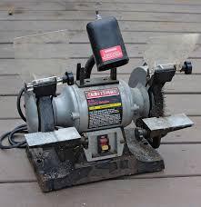 craftsman 6 inch bench grinder ebth