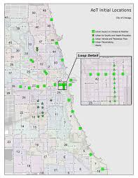 Map Of Chicago Loop by Chicago U0027s New Smart Sensor Network Is A Game Changer For City Data