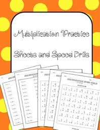 best 25 multiplication practice sheets ideas on pinterest