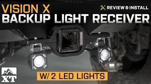 jeep wrangler backup lights wrangler vision x backup light receiver w 2 led lights 1987 2017